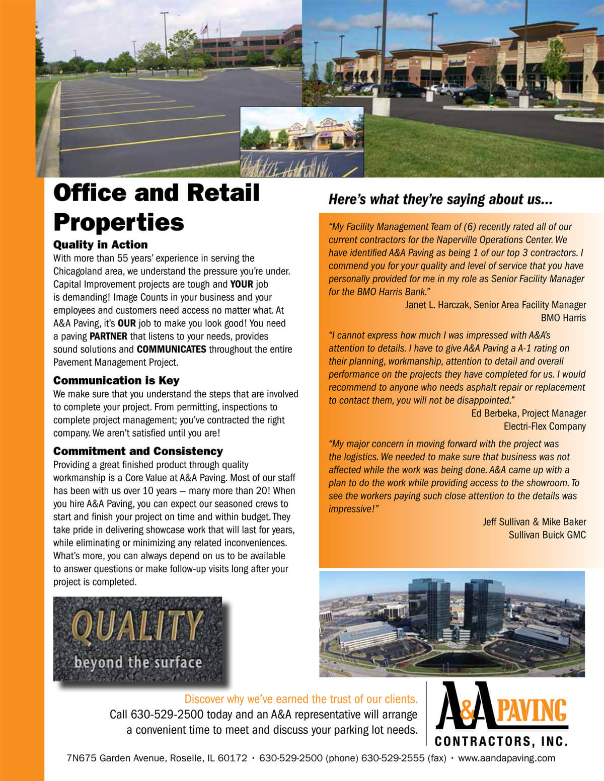 Office and Retail