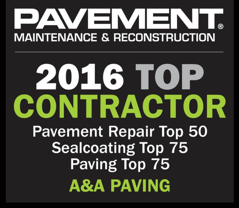 A&A Paving | One of the Nation's Best for Third Straight Year