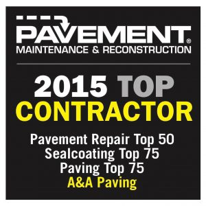 A&A Paving | Top Contractor for 2015