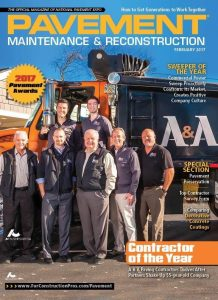 A&A Paving Wins THE 2017 Contractor of the Year Award