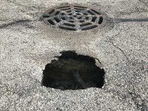 Sinkholes in Your Parking Lot?