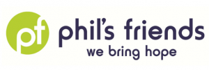 phil's friends logo - we bring hope