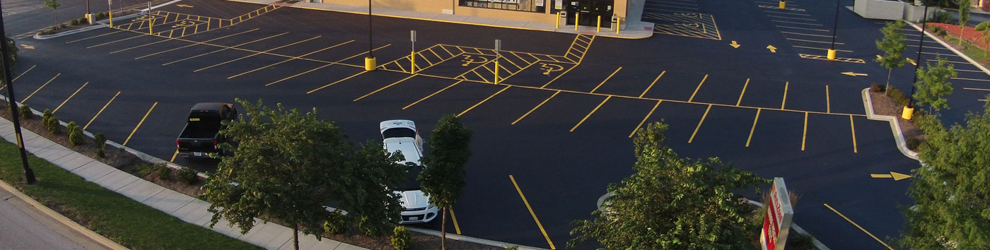 Harbor Freight Parking Lot - 5 steps to an improved parking lot