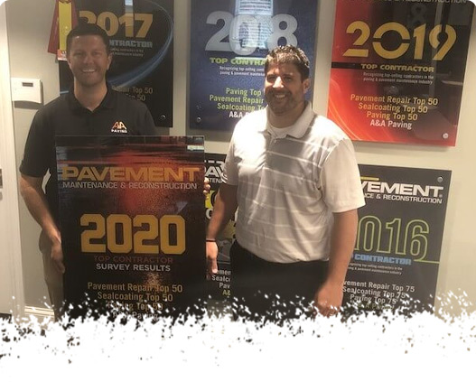 2020 Pavement Award Ceremony - A & A Paving