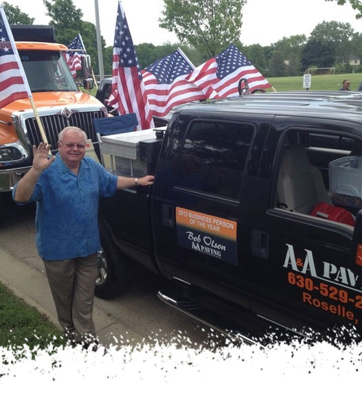 Bob Olson - Business of the Year - A & A Paving