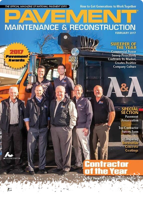 Contractor of the Year 2017 - A & A Paving