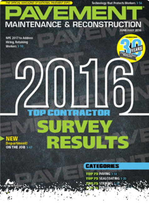 Top Contractor of 2016 - A & A Paving