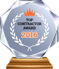 Award Top Contractor 2016 - A & A Paving