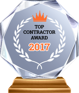 Award Top Contractor 2017 - A & A Paving
