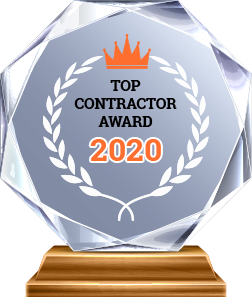 Award Top Contractor 2020 - A & A Paving