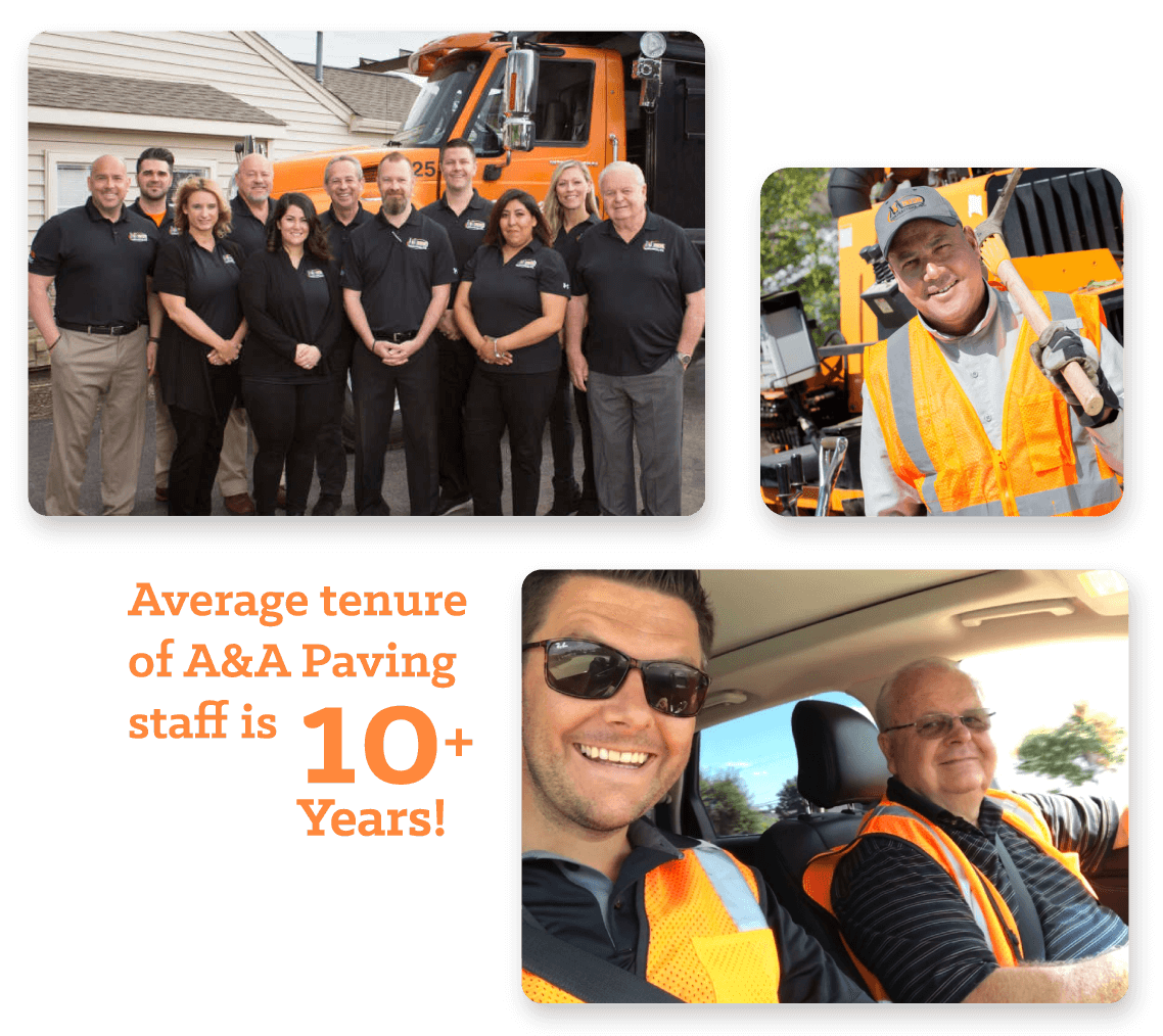 Paving Experts Staff - A & A Paving