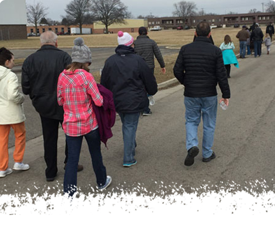 Walk-A-Mile With Wayside Cross Ministries -A & A Paving