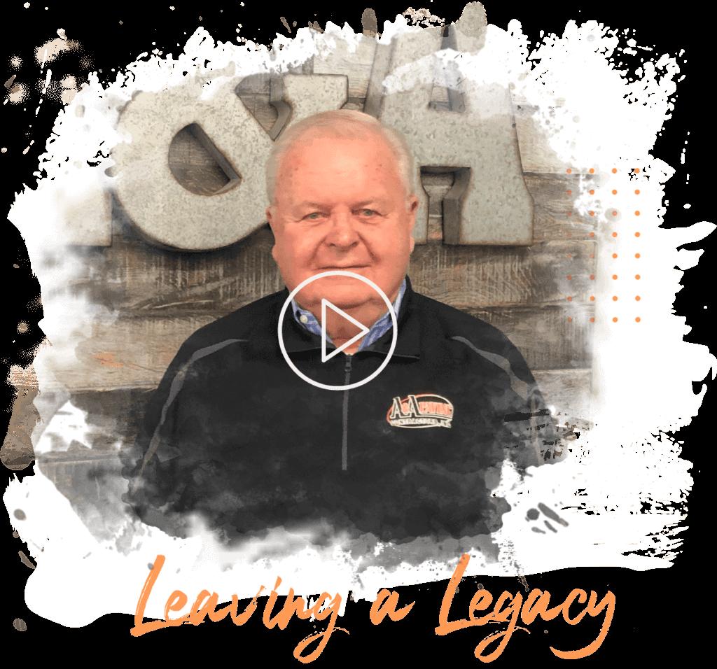 Bob Leaving a Legacy - A & A Paving